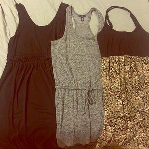 3 Maxi Dresses